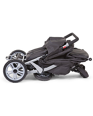 Childwood Triplet Stroller, Anthracite - for 3 Children from 6 months up to 15 kg! Pushchairs