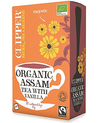 Clipper Organic Assam Tea with Vanilla - 20 teabags Infusions