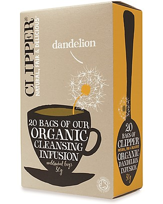 Clipper Organic Dandelion Infusion - 20 teabags Infusions