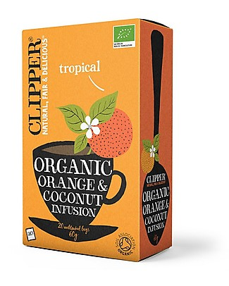 Clipper Organic Orange and Coconut Infusion - 20 teabags Infusions