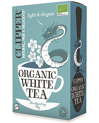 Clipper Organic White Tea - 26 teabags Infusions