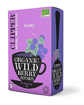 Clipper Organic Wild Berries Infusion - 20 teabags Infusions