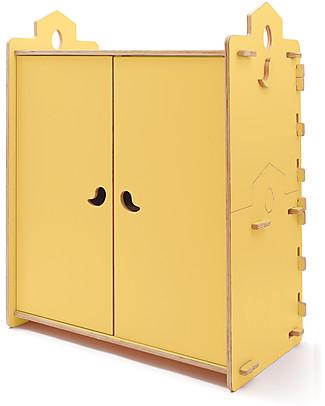 Cocò&Design Tana Wardrobe, Pear - 110x60x120 cm - Poplar wood Dressers