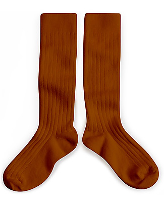 Collégien Ribbed Socks, Clay – Extra-soft Egyptian cotton! Socks
