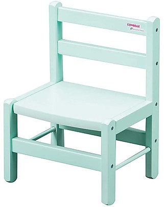Combelle Beech Wood Kid's Low Chair, Mint – Super easy to assemble Chairs