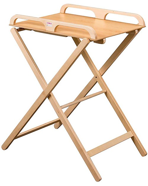 Combelle Jade, Foldable Changing Table, Natural U2013 Beech Wood Changing Tables