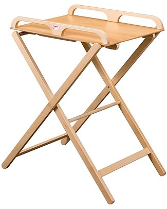 Combelle Jade, Foldable Changing Table, Natural – Beech wood Changing Tables