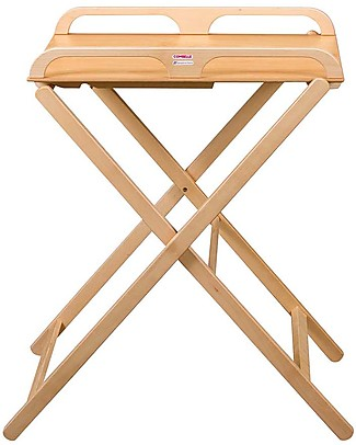 Combelle Jade, Foldable Changing Table, Natural - Beech wood Changing Tables