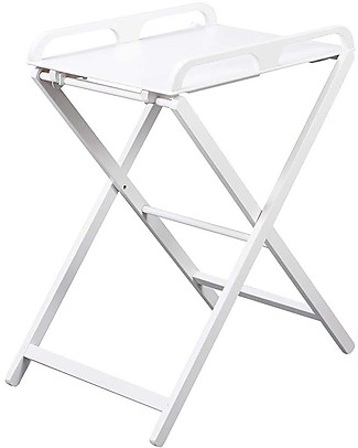 Combelle Jade, Foldable Changing Table, White – Beech wood Changing Tables