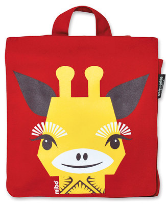 Coq en Pâte Glenda the Giraffe Kids Backpack - 100% Organic Cotton (23x23x7.5 cm) Small Backpacks