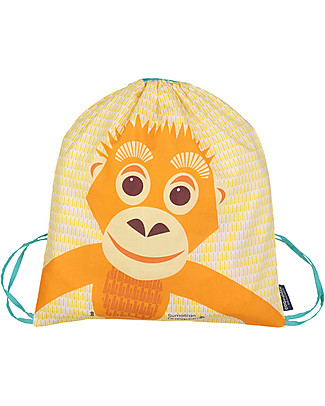 Coq en Pâte Orangutan Kids Soft Backpack/Bag, Yellow - 100% Organic Cotton (37 x 33 cm)	 Small Backpacks