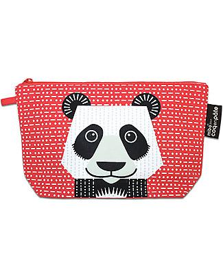Coq en Pâte Panda Pencil Case/Pouch - 100% Organic Cotton Canvas null