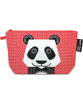 Coq en Pâte Panda Pencil Case/Pouch - 100% Organic Cotton Canvas Pencil Cases