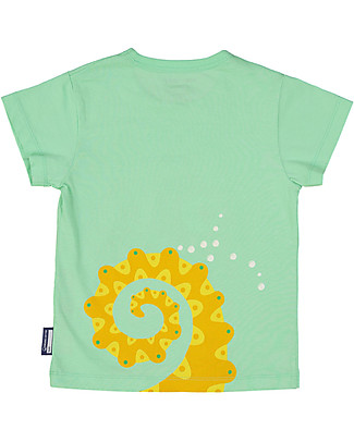 Coq en Pâte Sea Horse T-shirt, Green Apple - 100% organic cotton T-Shirts And Vests