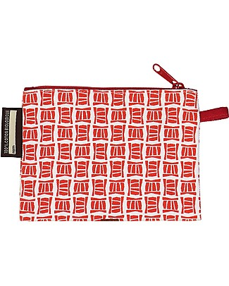 Coq en Pâte Mibo kid's Gazelle Purse, Red - 100% Organic Cotton! Purses
