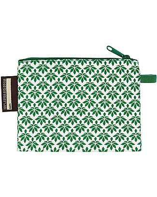 Coq en Pâte Tiger kid's Purse, Green - 100% Organic Cotton! Purses