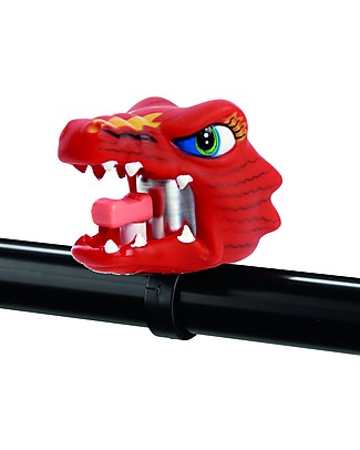 Crazy Safety Kids Bike Bell, Chinese Dragon - Riding Safely! Bycicles