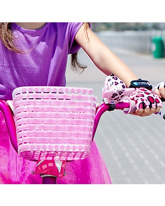 Crazy Safety Kids Bike Bell, Pink Leopard - Riding Safely! Bycicles