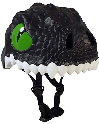 Crazy Safety Kids Bike Helmet, Black Dragon- Colorful, Lightweight and Indestructible! Bycicles