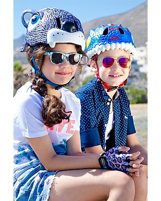 Crazy Safety Kids Bike Helmet, Blue Dragon- Colorful, Lightweight and Indestructible! Bycicles
