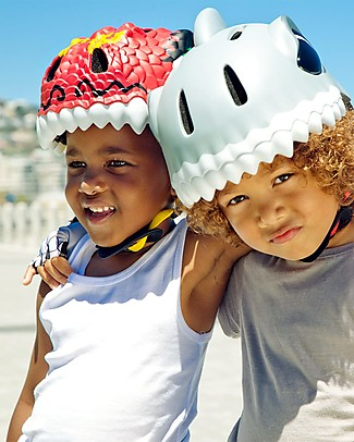 Crazy Safety Kids Bike Helmet, Chinese Dragon- Colorful, Lightweight and Indestructible! Bycicles