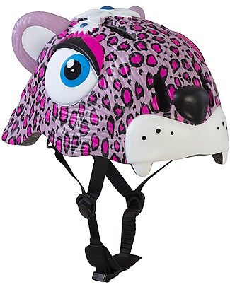 Crazy Safety Kids Bike Helmet, Pink Leopard - Colorful, Lightweight and Indestructible! Bycicles