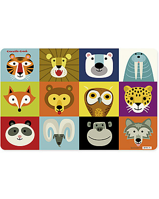 Crocodile Creek Animals Placemat - 28 x 43,5 cm Meal Sets