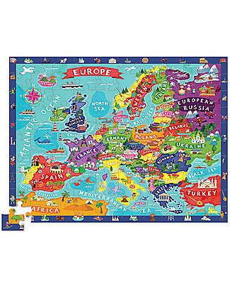 Crocodile Creek Discover Europe - Puzzle Puzzles