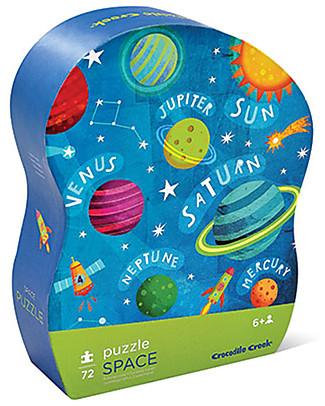 Crocodile Creek Junior Shaped Box Puzzle, Solar System – 72 pieces! Puzzles