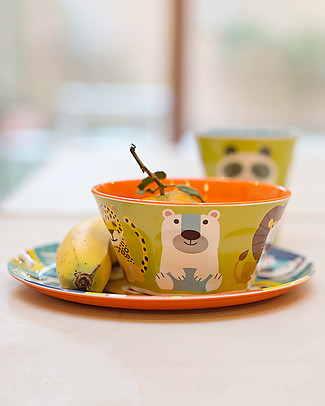 Crocodile Creek Melamine Baby Cup, 230 ml, Animalia - Free from BPA, PVC, phthalates, lead! Egg Cups & Measuring Cups