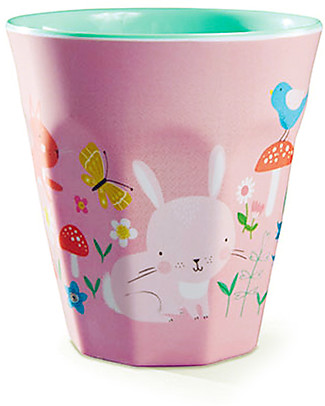Crocodile Creek Melamine Baby Cup, 230 ml, Backyard Friends - Free from BPA, PVC, phthalates, lead! Egg Cups & Measuring Cups