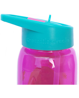 Crocodile Creek Tritan Children's Drinking Bottle 500 ml, Backyard Friends - Safe and recyclable! BPA-Free Bottles