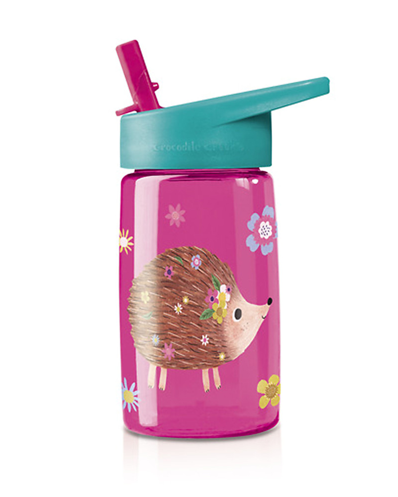 Crocodile Creek Tritan Childrenu0027s Drinking Bottle 500 Ml, Hedgehog   Safe  And Recyclable! BPA