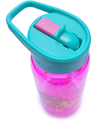 Crocodile Creek Tritan Children's Drinking Bottle 500 ml, Hedgehog - Safe and recyclable! BPA-Free Bottles