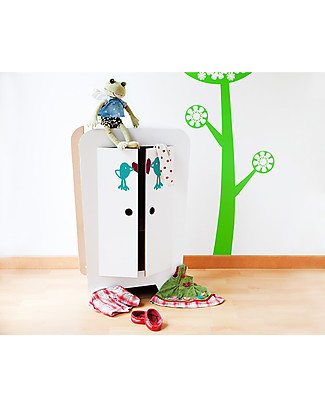 Decoramo Armando, Cardboard Dolls' Wardrobe - 72 cm tall! Paper & Cardboard