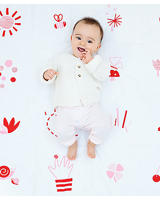 Deuz Baby Playmat Garden - 100% Organic Cotton Playmats