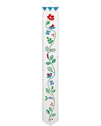 Deuz Organic Cotton Garden Growth Chart, Garden - 1 to 12 years Wall Stickers