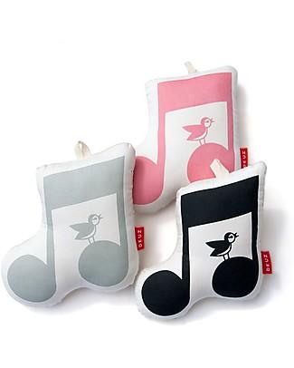 "Deuz Washable Music Box, Light Grey - ""Over the Rainbow"" - Organic cotton and kapok Musical Instruments"