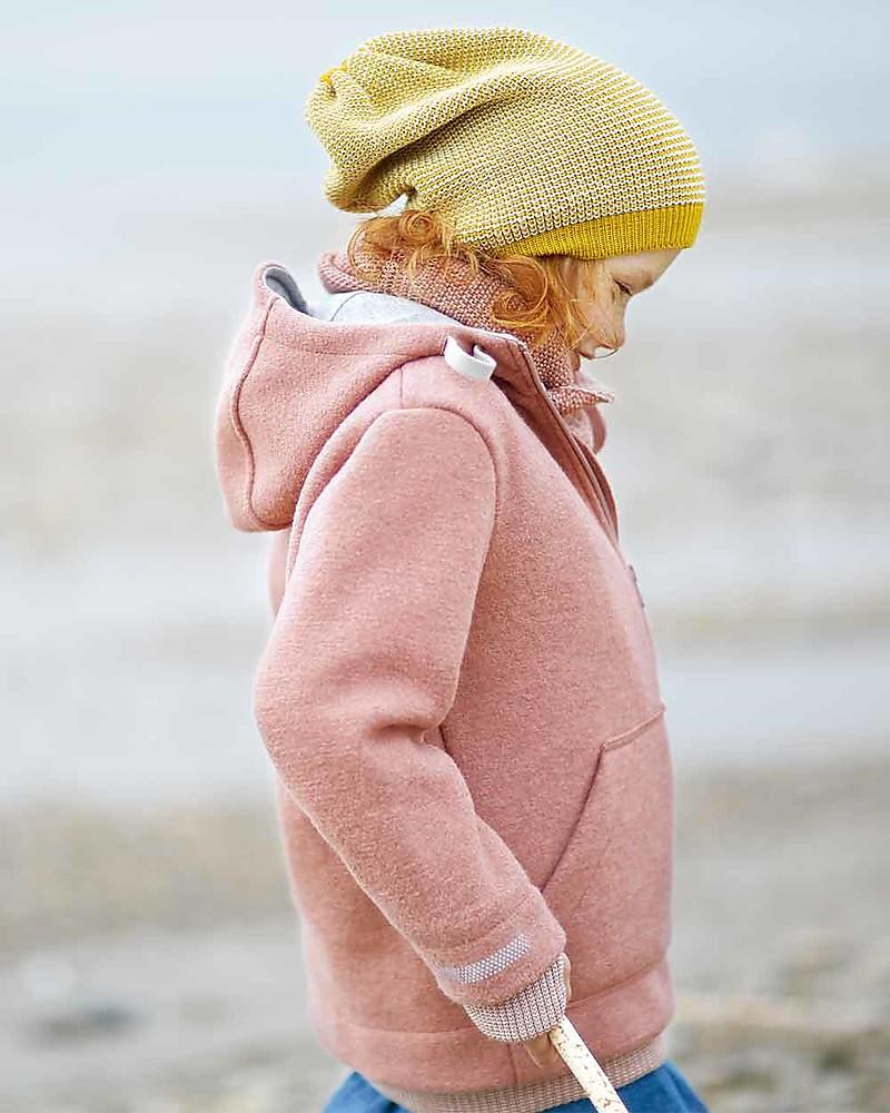98//104, Rose Disana Outdoor Jacket in Rose 100/% Organic Merino Wool Made in Germany