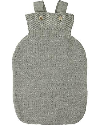 Disana Knitted Woollen Sleeping Bag, Light Grey – Pure merino wool Warm Sleeping Bags