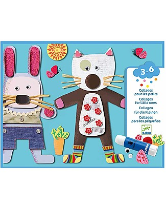 Djeco Collages - Collages for little one Art & Craft Kits