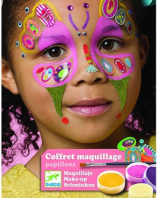 Djeco Face Paint Set - Butterfly Tattoos