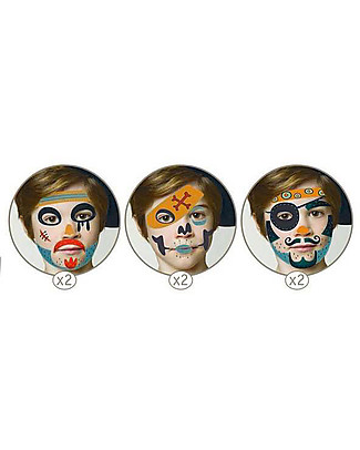 Djeco Face Paint Set - Pirate Tattoos