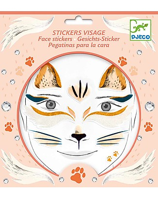 Djeco Face Tattoo - Animals, Cat Tattoos