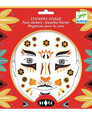 Djeco Face Tattoo - Animals, Leopard null