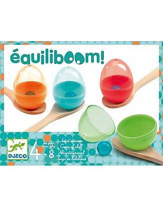 Djeco Game of Balance, Equiliboom - Don't Drop the Egg! Outdoor Games & Toys