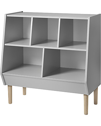 Done By Deer 2in1 Storage Rack, Grey - Suitable from Birth Dressers