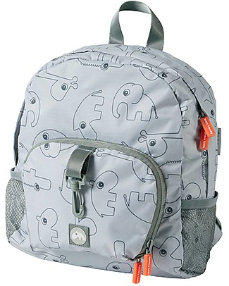 Done By Deer Backpack - Contour - 10 L - Grey - Suitable from Birth Large Backpacks