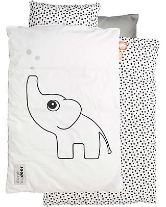Pack of 2, White Junior Joy Cot Cotton Pillow Case