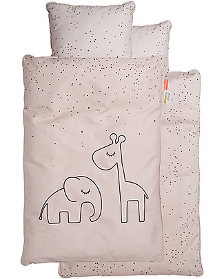 Done By Deer Bedlinen - Baby - Dreamy Dots - Pow - Int/Dk - Suitable from Birth Bed Sheets